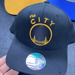 Lot of 3 NBA Golden State Warriors Basketball Hats Thumbnail