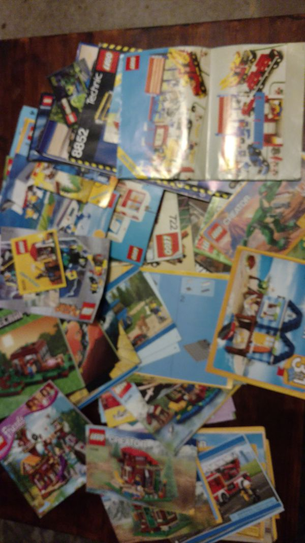 Lego Instruction Books More Than 65 Of Them Collectibles In