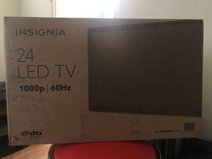 "Insignia 24"" LED TV - BRAND NEW IN BOX for Sale in Tampa, FL"