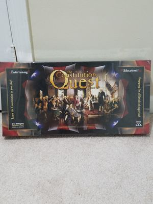 The Constitution Quest New and Sealed for Sale in Fairfax, VA