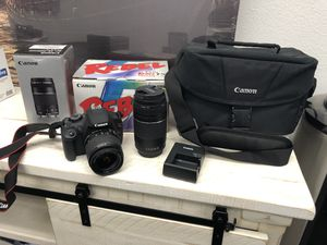 Canon Rebel T5 for Sale in Ontario, CA