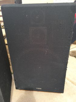 Fisher speakers Thumbnail