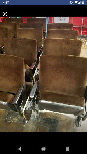 Movie theater chairs for Sale in Tucson, AZ