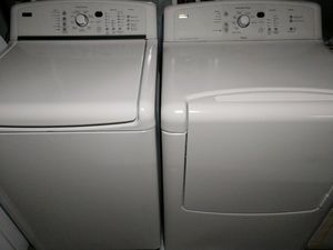 Photo KENMORE ELITE OASIS MATCHING SET WASHER AND ELECTRIC DRYER KING SIZE CAPACITY PLUS