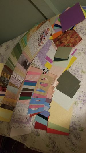 Scrapbook paper lot for Sale in Modesto, CA