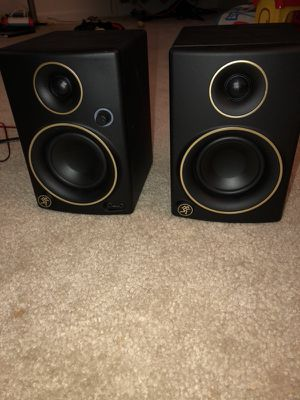 Mackie CR3 limited edition studio monitors for Sale in Germantown, MD