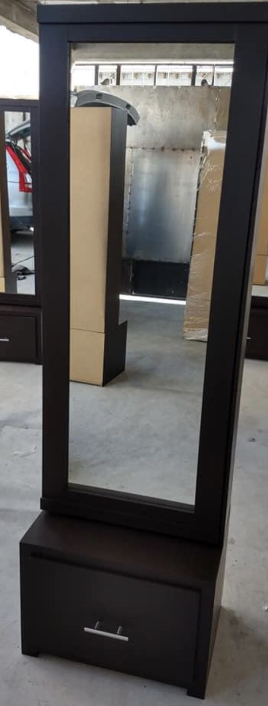 New sliding door mirror white black grey and dark brown available