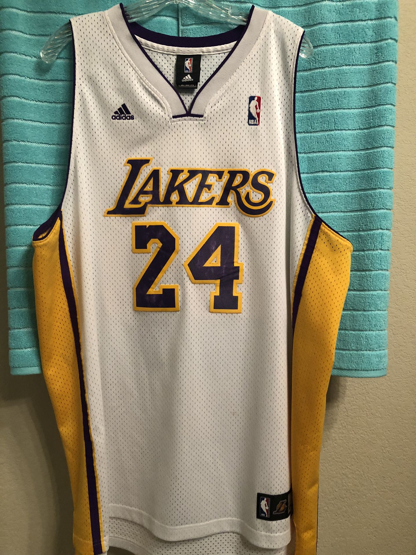 Authentic Los Angeles lakers Kobe Bryant jersey size xxl / 2xl for ...