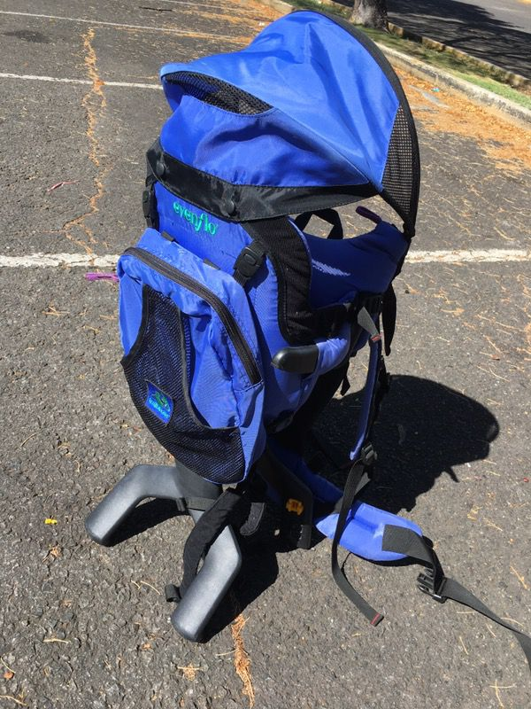 Infant Baby Hiking Carrier Backpack Evenflo Trailblazer For Sale In Honolulu Hi Offerup