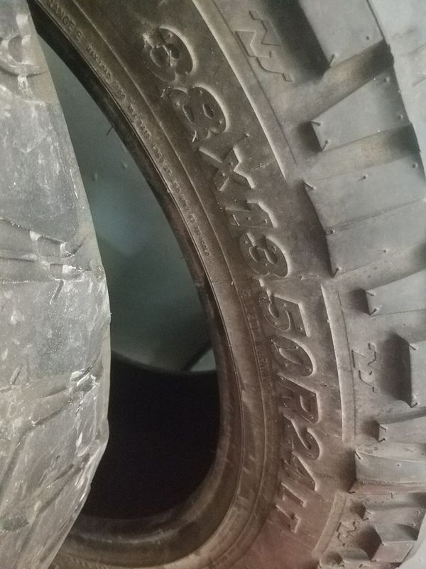 Nitto Grappler Mt >> Nitto Trail Grappler Mt 38 13 5 24 Mud Tires For Sale In Tampa Fl