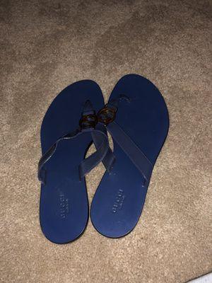 Blue Gucci Flip Flops for Sale in Herndon, VA