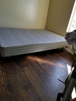 base frame and fundation bed for Sale in Richmond, CA