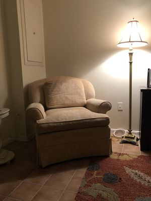 Light yellow chair for Sale in Bethesda, MD
