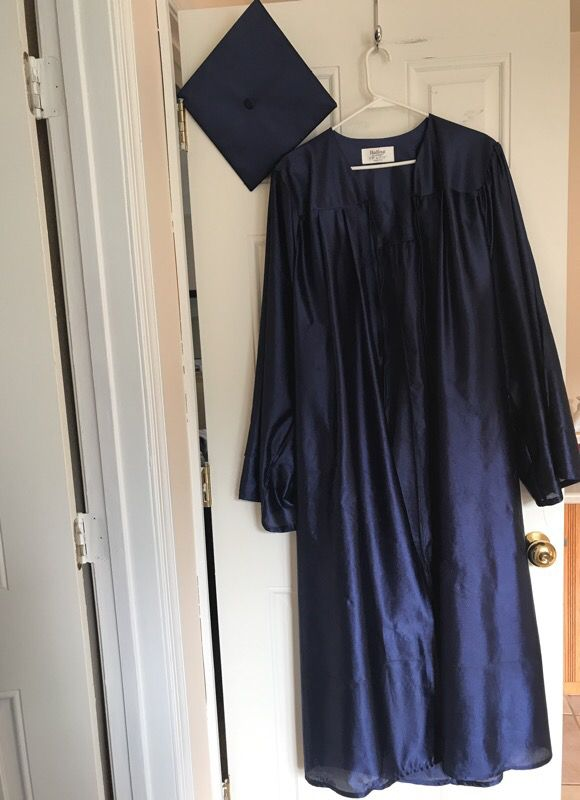Blue - Balfour graduation cap and gown (Clothing & Shoes) in ...