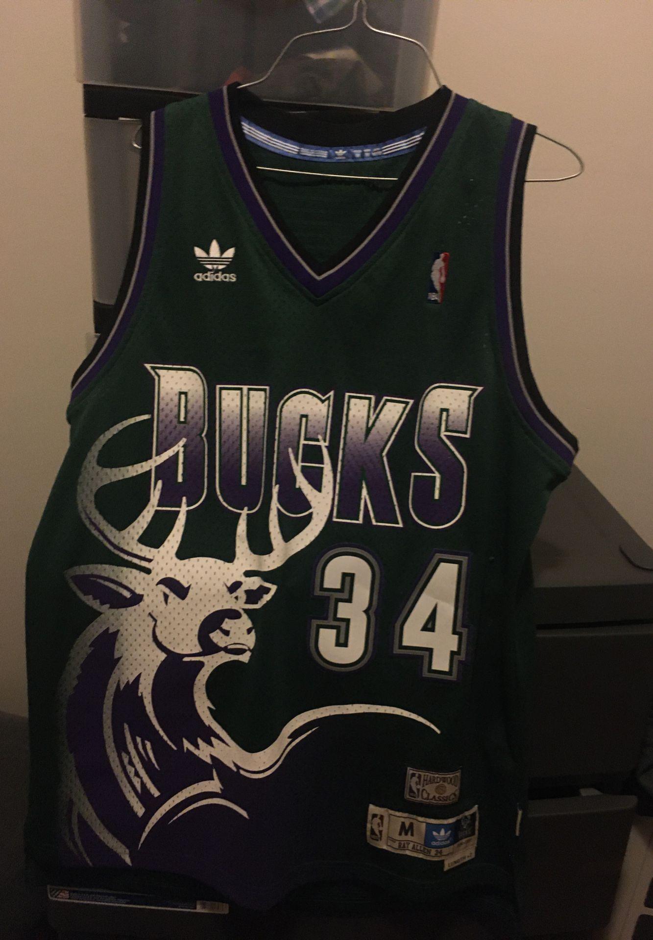 ray allen bucks jersey for sale