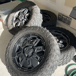 20' Rims And Tires Balanced Ready To Mount  Thumbnail