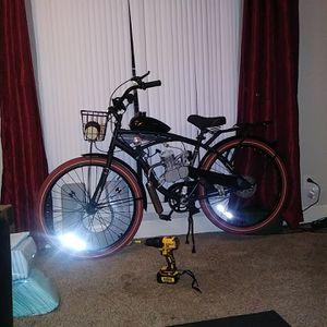 Photo 80 cc 2 stroke gas bike