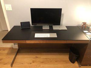 Desk BDI Sequel And file cabinets for Sale in Miramar, FL