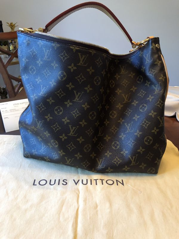 356c571d8508 Authentic Louis Vuitton Sully MM Bag for Sale in Lake Worth