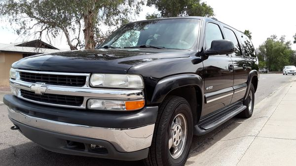 2000 Chevy Suburban 4x4 leather seats sunroof new tires ...