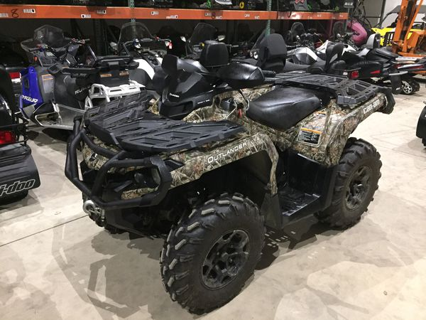 2014 can-am outlander xt 800r 800 r 4x4 power steering 349 miles will trade