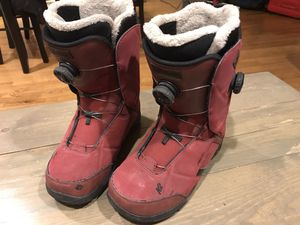 -K2 Snowboard Boots Double Boa System Size 10 Excellent Condition! for Sale in Denver, CO