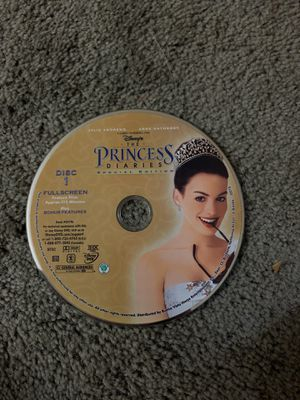 The princess diaries DVD only for Sale in Florence, KY