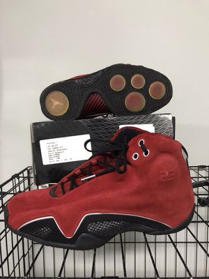 Nike Air Jordan 21 red suede 10.5 for Sale in Manassas, VA