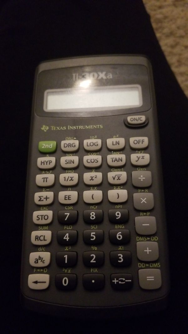 ti 30xa calculator for sale in san mateo ca offerup