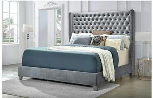 Photo Furniture queen bed fabric Finance available down payment of $291456 North Beltline Road Garland Texas 75044