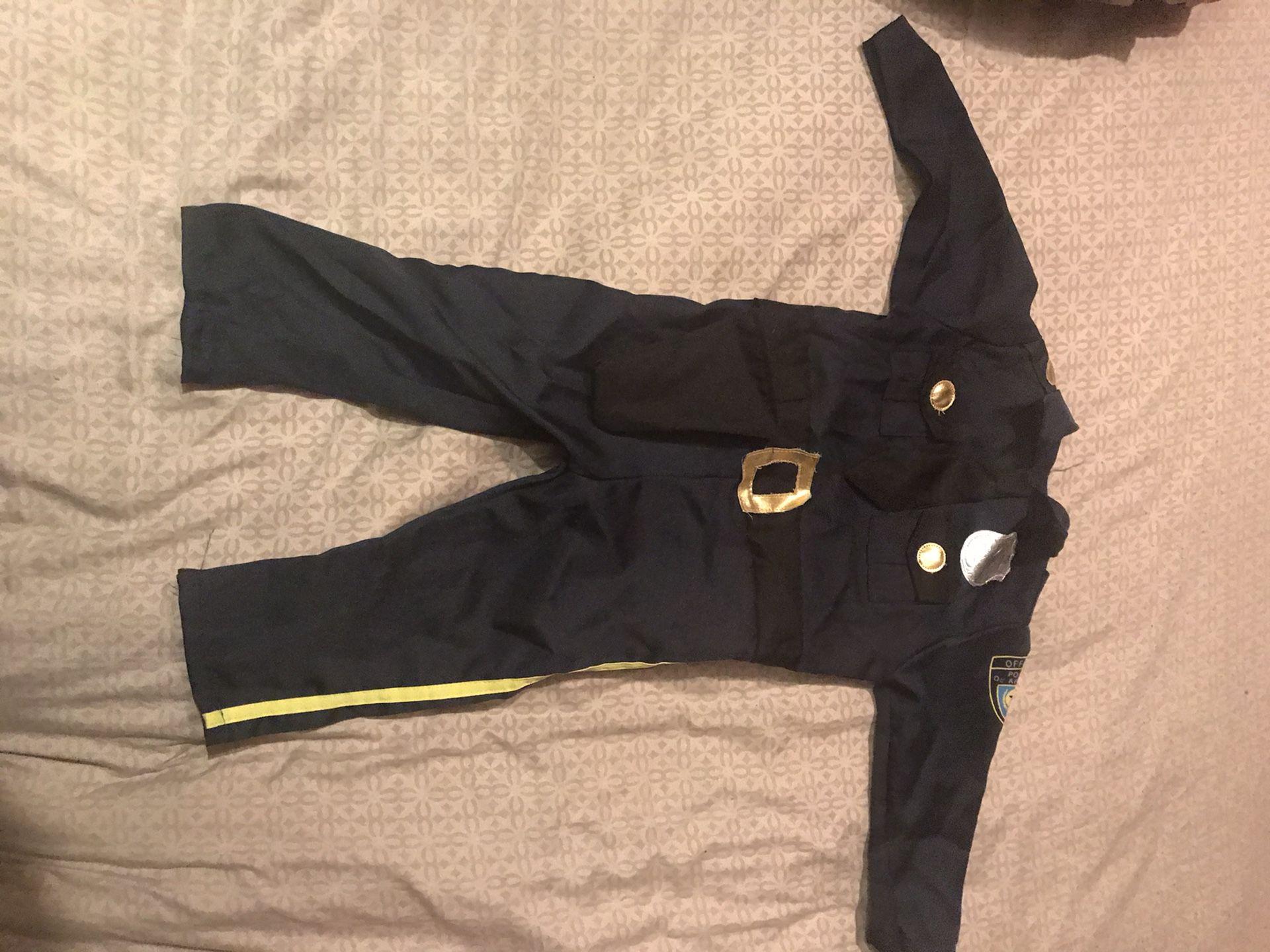Police officer costume