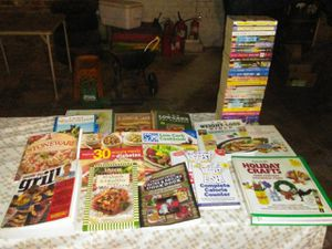 Romance and cook books for Sale in Lynchburg, VA