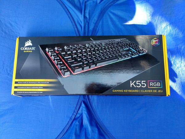 Corsair K55 RGB Mechanical Gaming Keyboard!! for Sale in Tucson, AZ -  OfferUp