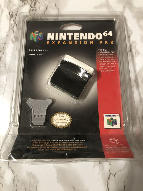 New Nintendo 64 Expansion Pak OEM