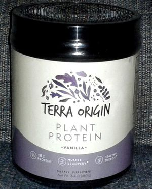3 Bottles TERRA ORIGIN Plant Protein Supplement for Sale in Silver Spring, MD
