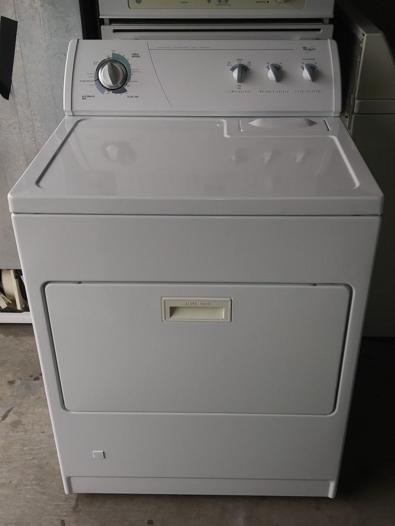 WHIRLPOOL GAS DRYER FOR SALE