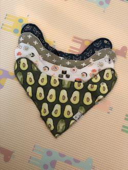Baby Bibs/Aden+Anais burpy Bibs/ Burpy Cloths/Snap Bibs/bandana Bibs/Copper Pearls /Nike /carter's Thumbnail