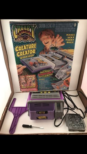 Creepy crawlers 1996 kids toy and game for Sale in Chagrin Falls, OH