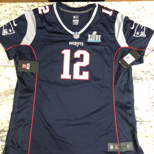 Nike Tom Brady NFL New England Patriots Jersey SB52 Womens Sz XXL NWT for Sale in Alexandria, VA