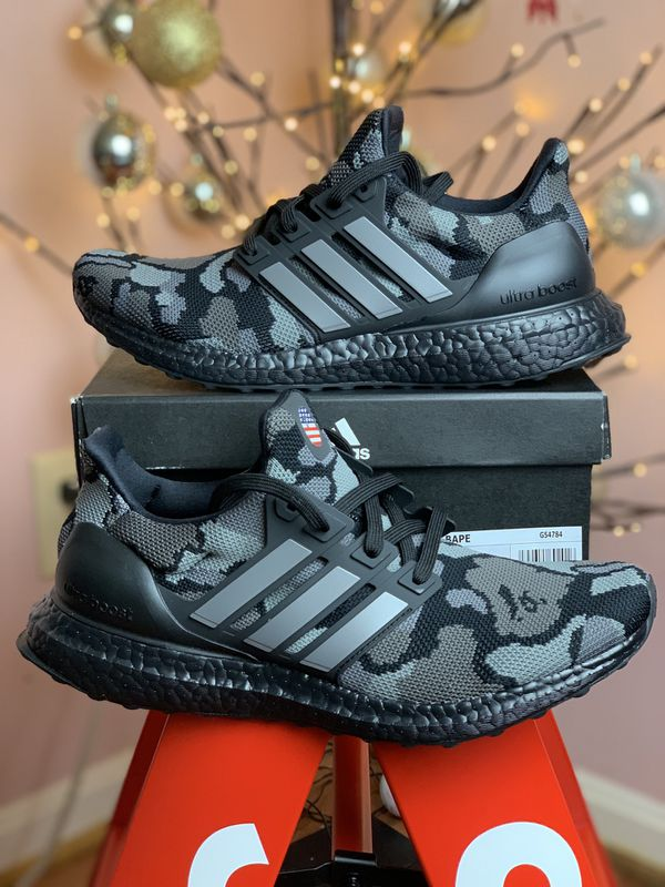 best deals on 0eaa1 98e95 ADIDAS ULTRA BOOST 4.0 BAPE CAMO BLACK US 7.5 for Sale in Reston, VA -  OfferUp