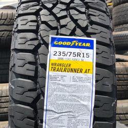 235/75R15 Goodyear Wrangler Trail Runner  Thumbnail