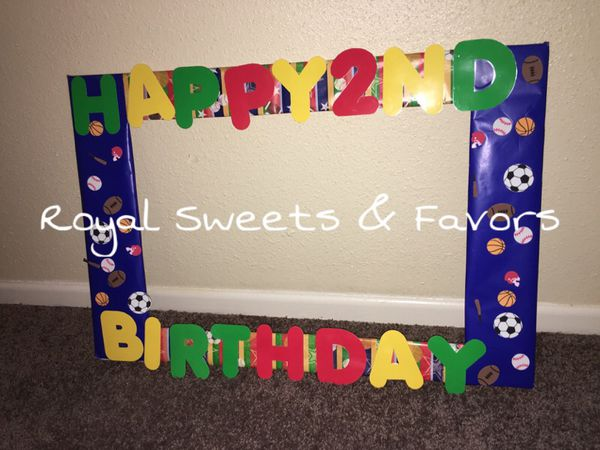 Sports Birthday Party Frames (Baby & Kids) in New Orleans, LA - OfferUp