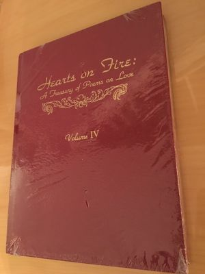 Hearts on Fire: Love Poems, NIP Red Leather Bound Collectors Editiin for Sale in Martinsburg, WV
