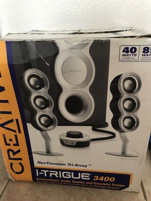 Speaker system for Sale in San Diego, CA