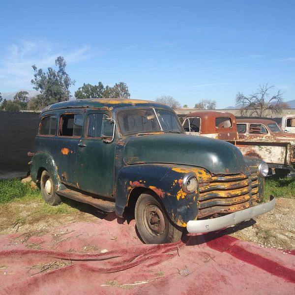 Suburban 3100 Chevy Ratrod Hotrod Project 1947 1948 1949