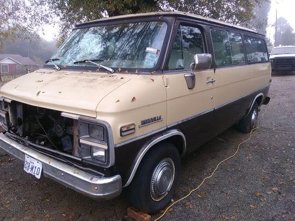 1983 chevy van parts