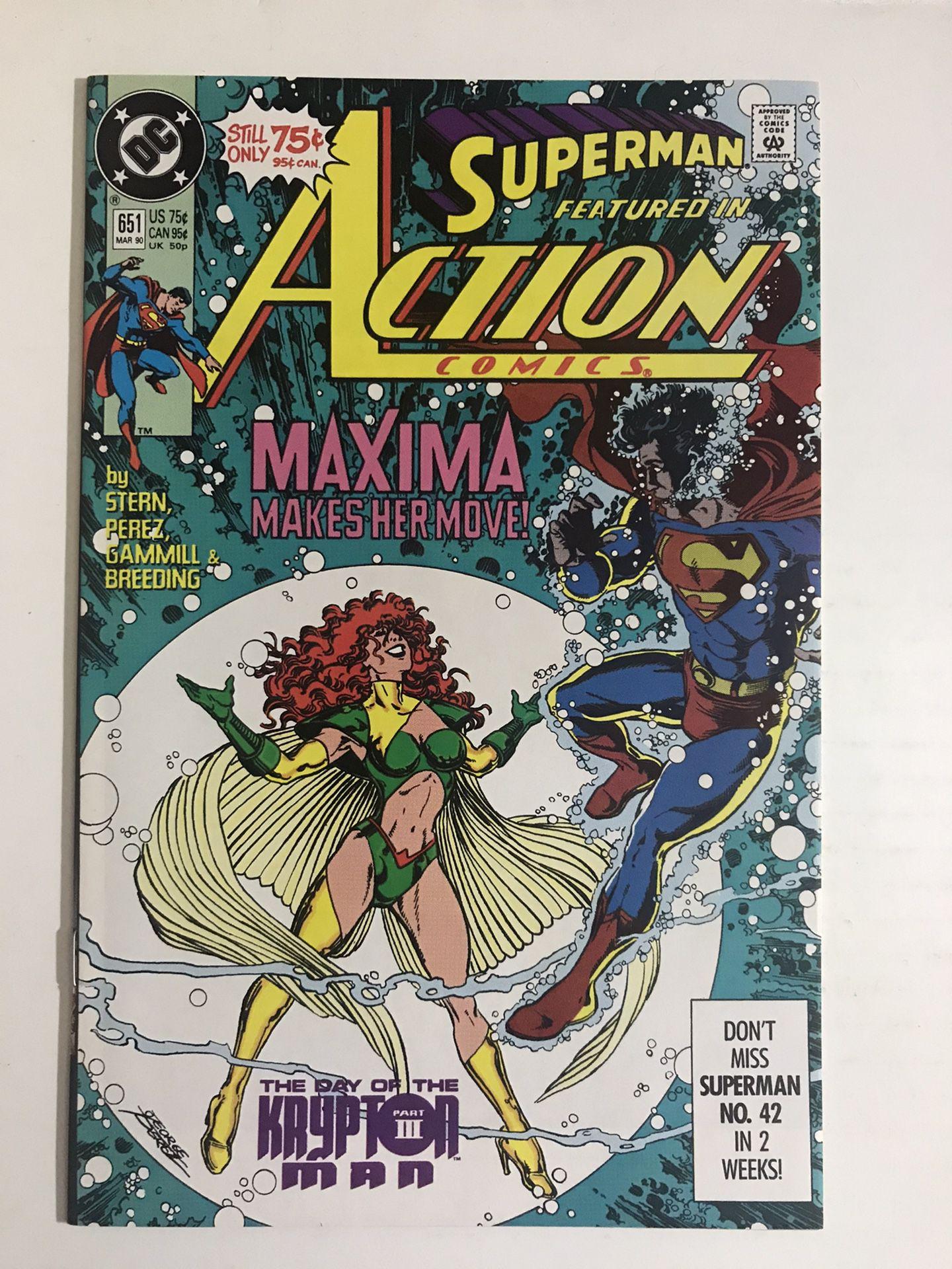 DC Comics  - Action Comics #651