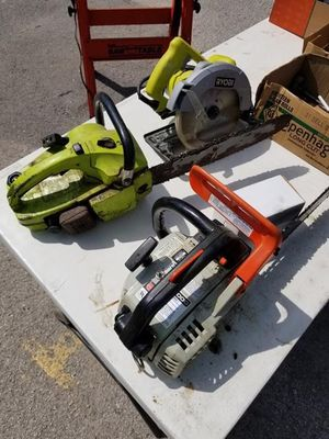 New and Used Chainsaw for Sale in Tulsa, OK - OfferUp