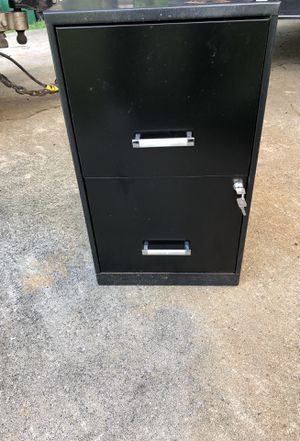 Two Drawer Filing Cabinet With Key 10 For In Malabar Fl