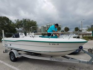 1997 Angler Center console boat 18 feet for Sale in Saint Cloud, FL